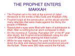 the prophet enters makkah