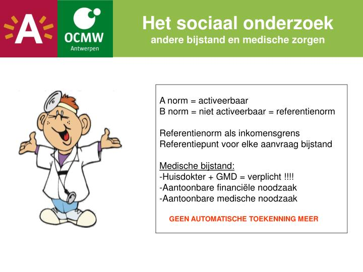 Het sociaal onderzoek