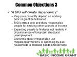 common objections 3