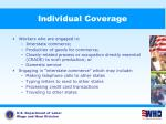individual coverage