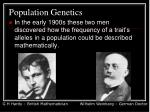 population genetics1