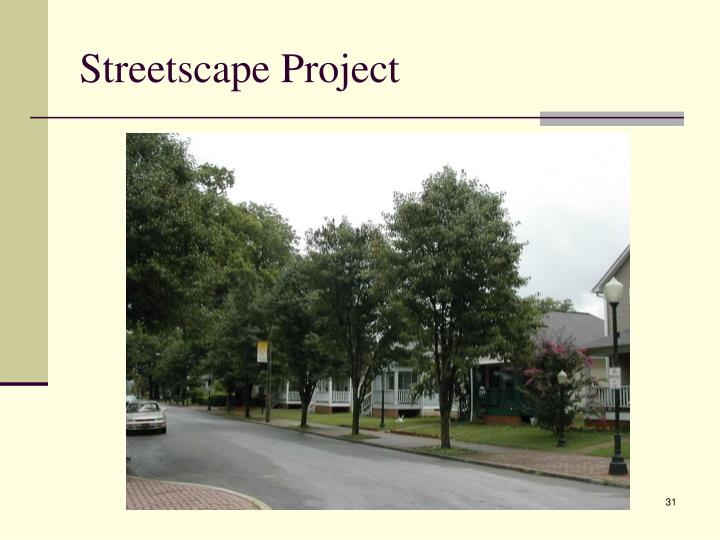 Streetscape Project