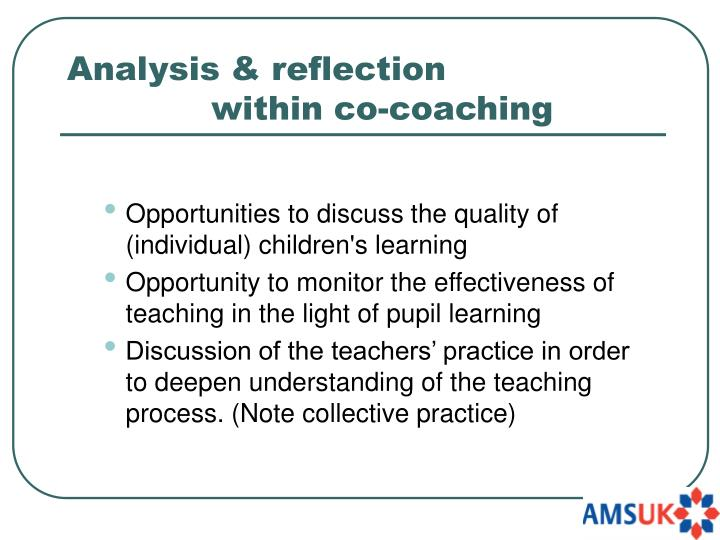 Analysis & reflection