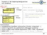 ausblick ii mit objektspieldiagrammen zum quelltext