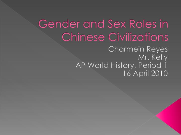 sex and gender 3 essay An incomplete list of topics for research paper  this list is meant to give you some ideas about the topics for research papers in this course.
