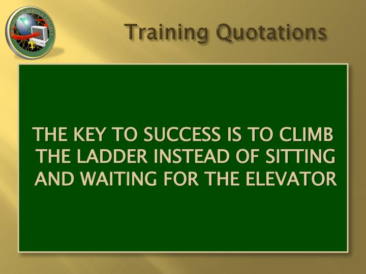 Training quotations1