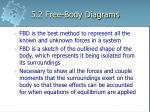 5 2 free body diagrams