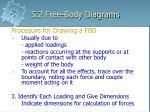 5 2 free body diagrams19