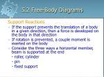 5 2 free body diagrams4