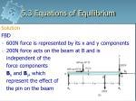 5 3 equations of equilibrium10