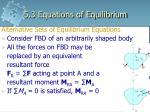 5 3 equations of equilibrium2