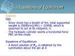 5 3 equations of equilibrium32