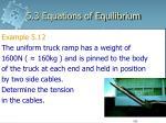 5 3 equations of equilibrium40