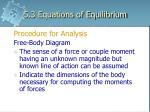 5 3 equations of equilibrium6