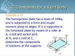 5 7 constraints for a rigid body12
