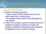 5 7 constraints for a rigid body7
