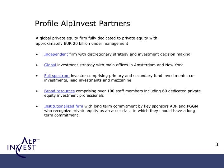 Profile alp i nve st partners