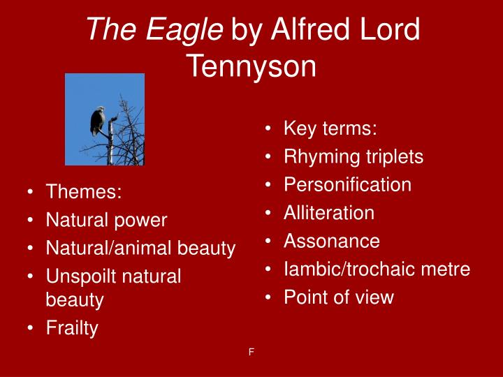 The eagle by alfred lord tennyson1