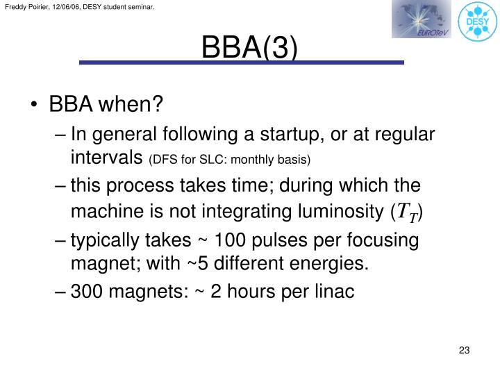 BBA(3)