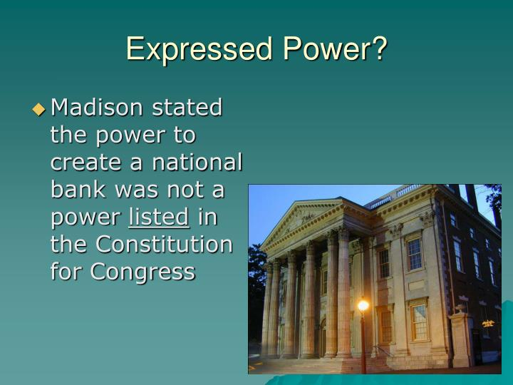 Expressed Power?