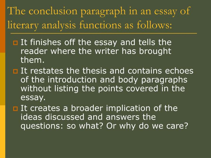 "literary essay ppt Literary analysis essay powerpoint presentation, ppt - docslides- norton field guide   ""literary analyses are essays in which we examine literary texts closely to understand their messages, interpret their meanings, and appreciate their writers' techniques"" (81)."