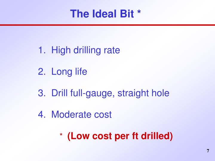 The Ideal Bit *