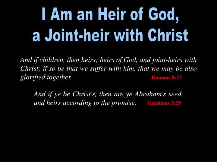 I Am an Heir of God,