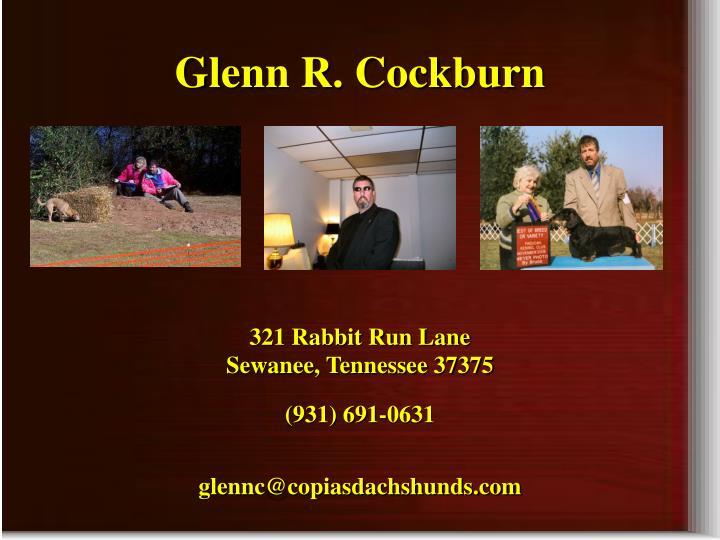 Glenn R. Cockburn