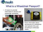 what is a wheelchair passport