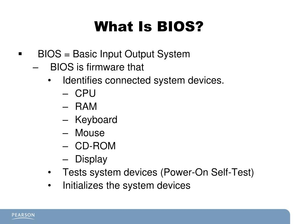 PPT - A+ Certification Guide Chapter 3 BIOS, CMOS, and