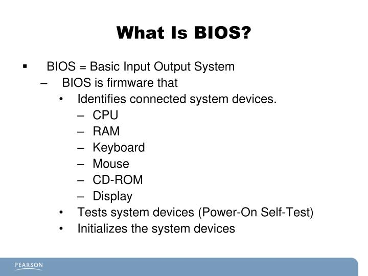 What is bios
