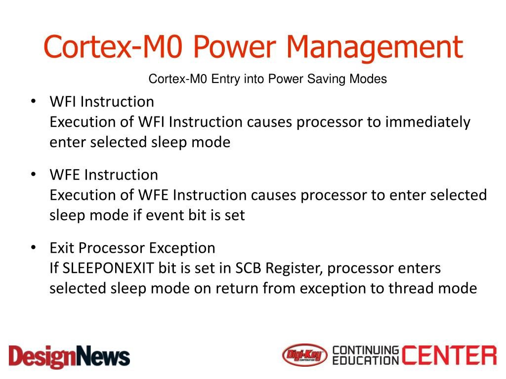 PPT - ARM Cortex-M0 PowerPoint Presentation - ID:2991744