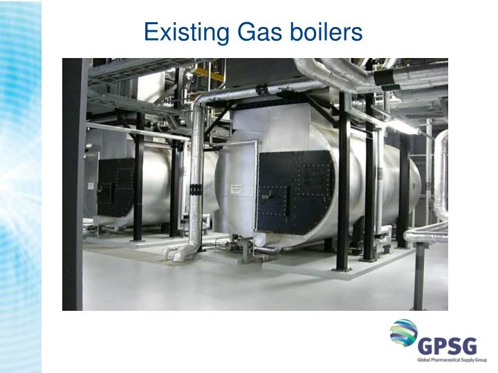 Existing Gas boilers