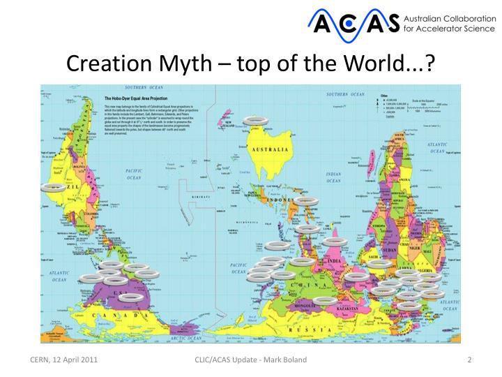 Creation myth top of the world