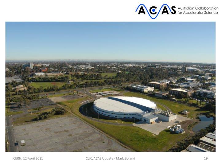 CLIC/ACAS Update - Mark Boland