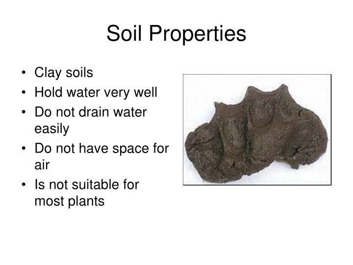 Clay soils