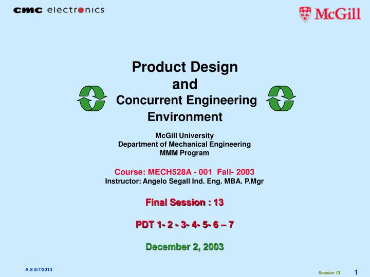 Ppt Product Design And Concurrent Engineering Environment Powerpoint Presentation Id 2992063