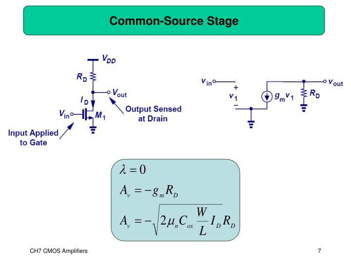 Common-Source Stage