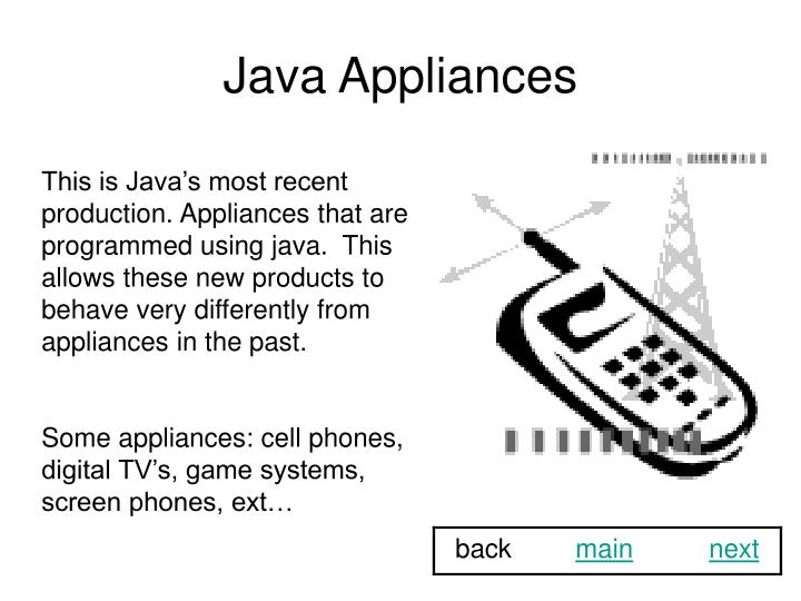 Java Appliances