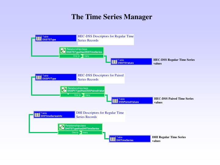 The Time Series Manager