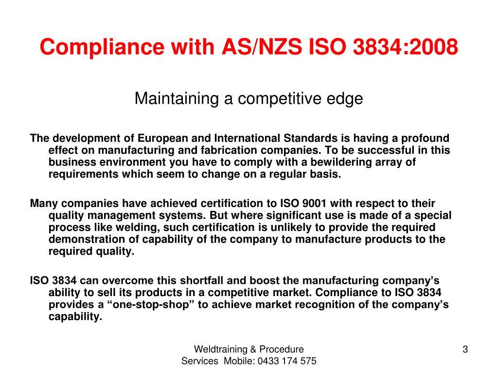 PPT - Welding Fabricator Certification Scheme PowerPoint