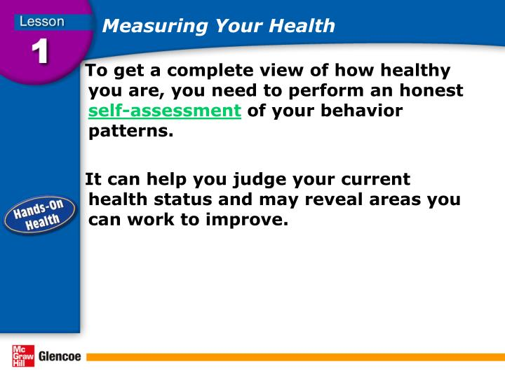Measuring Your Health