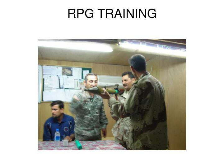 RPG TRAINING