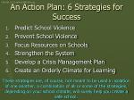 an action plan 6 strategies for success
