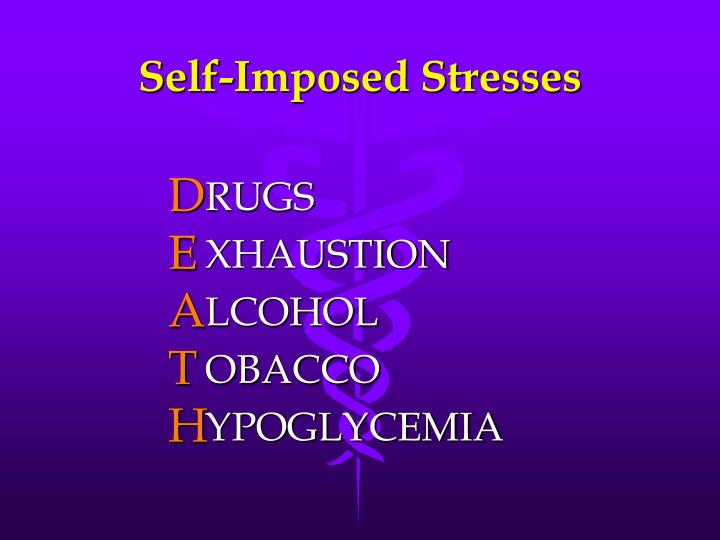 Self-Imposed Stresses