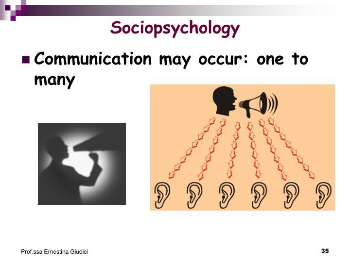 Sociopsychology