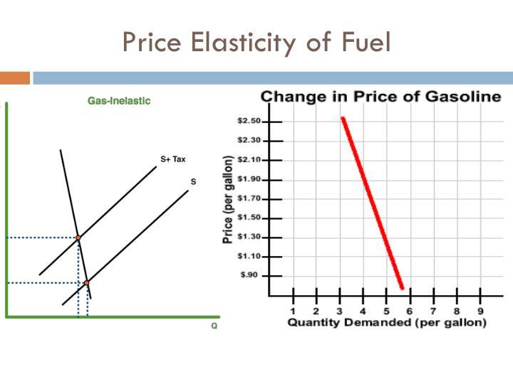 Price Elasticity of Fuel