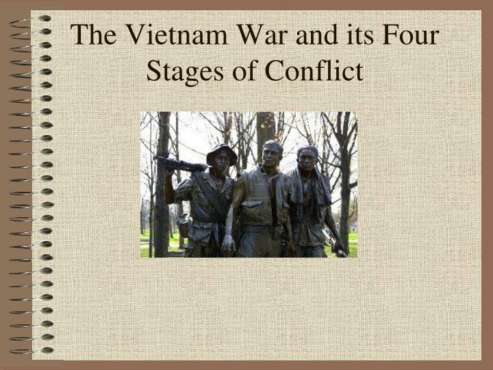 the vietnam war and its four stages of conflict n.
