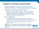 project 3 oversee tencon 2012