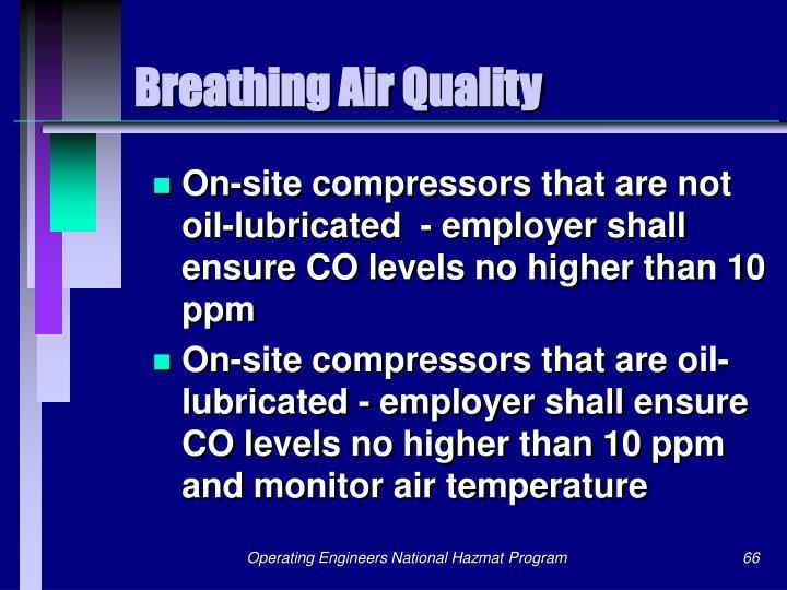 Breathing Air Quality